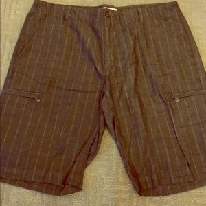 Men's Calvin Klein shorts size 36 plaid